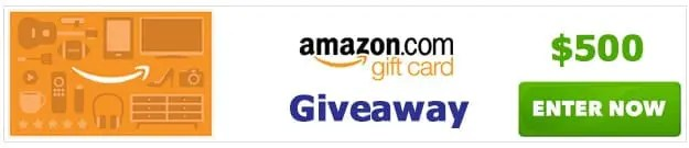 Amazon Shopping Spree Gift Card Giveaway