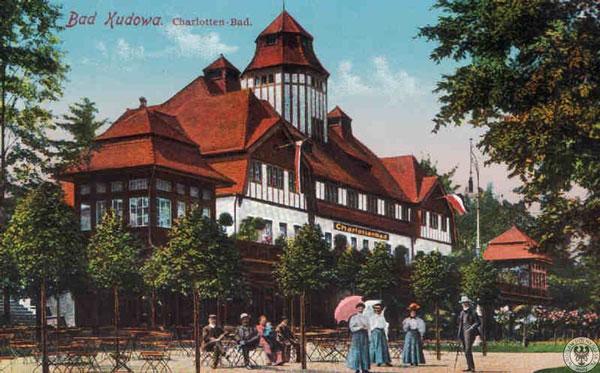 Charlotten bad 1908 rok obecnie zakład przyrodoleczniczy