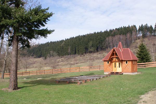 Górska Kaplica Jana Pawła II, Pstrążna, Kudowa-Zdrój