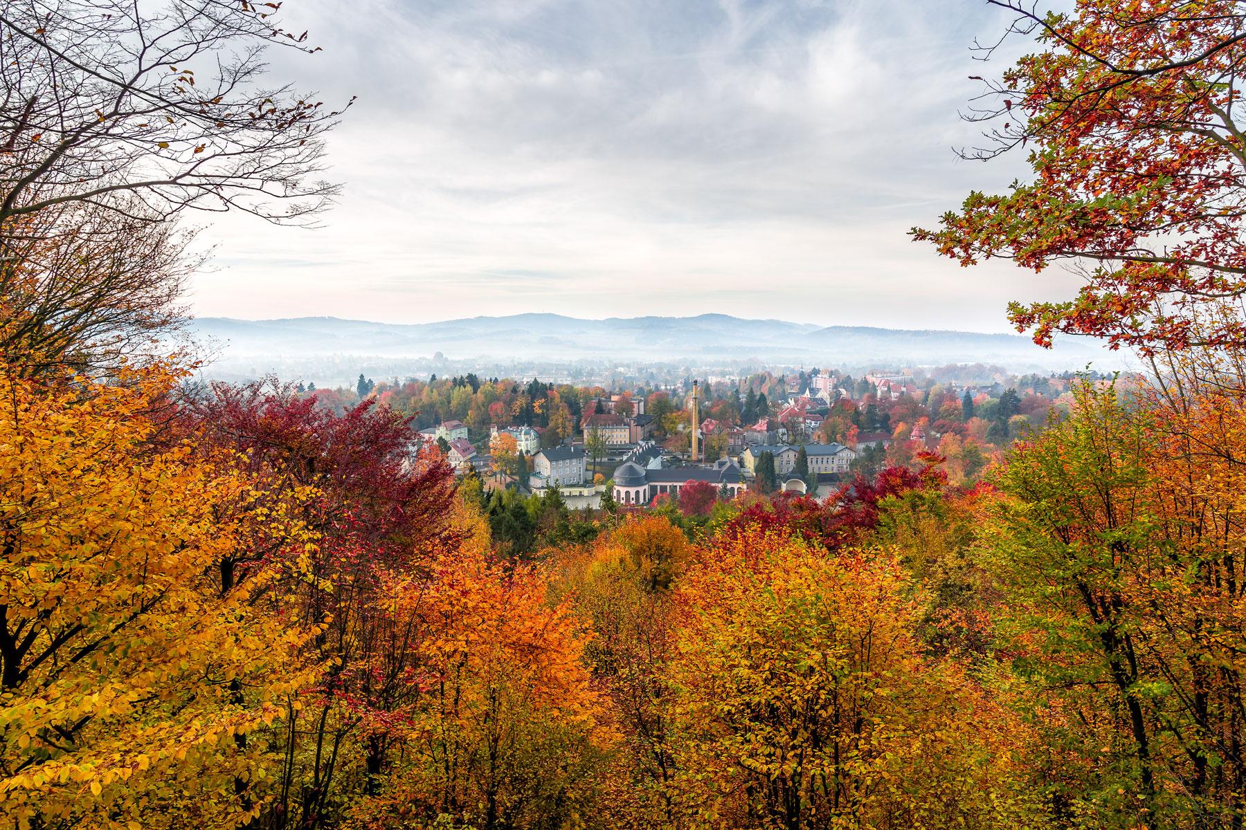 Jesień w Kudowie Zdroju