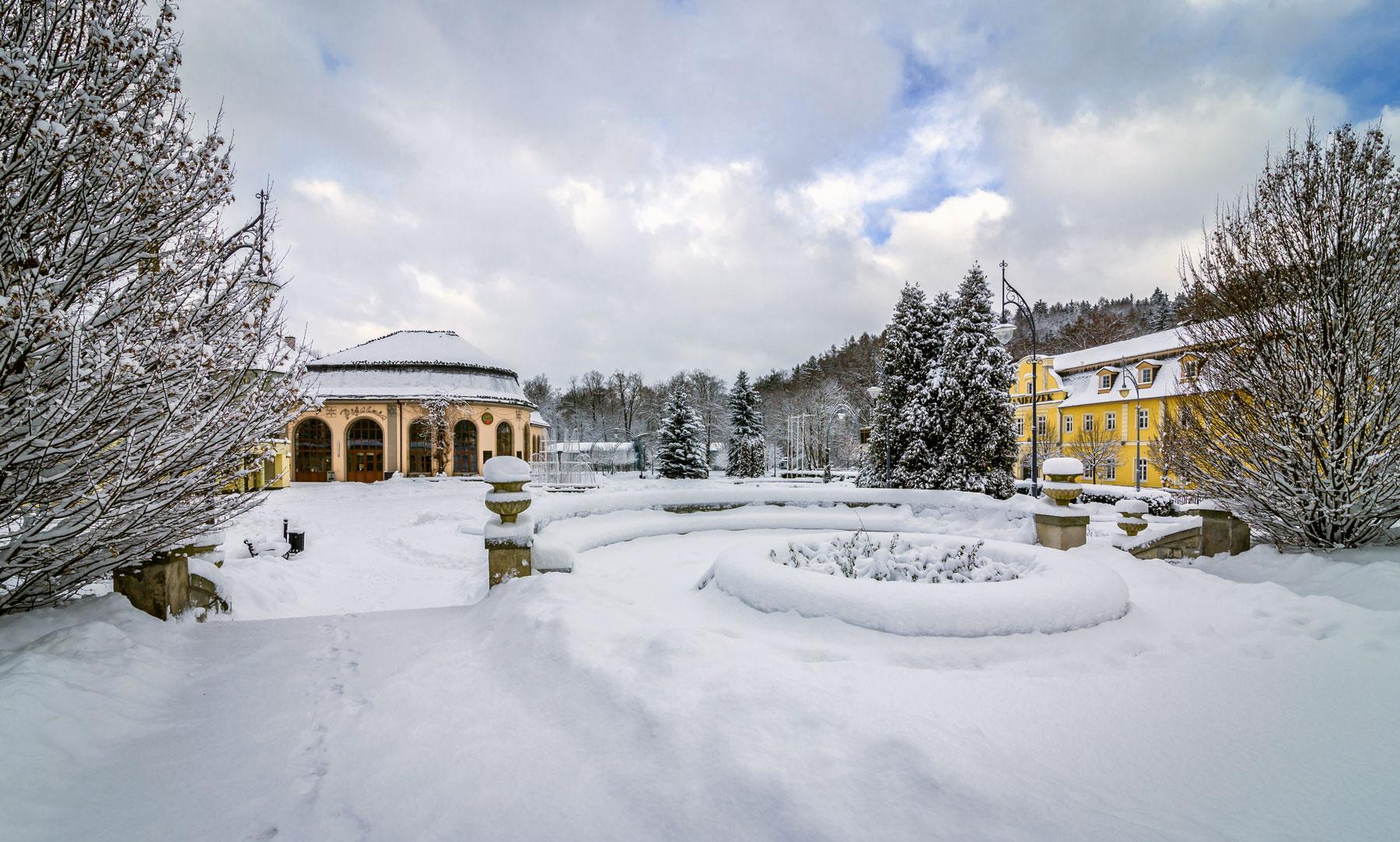 Kudowa Zdrój Zimą