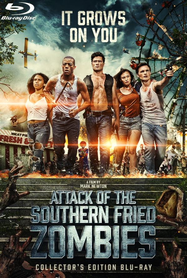 Attack of the Southern Fried Zombies (2018) Collector's Edition Blu-ray Cover
