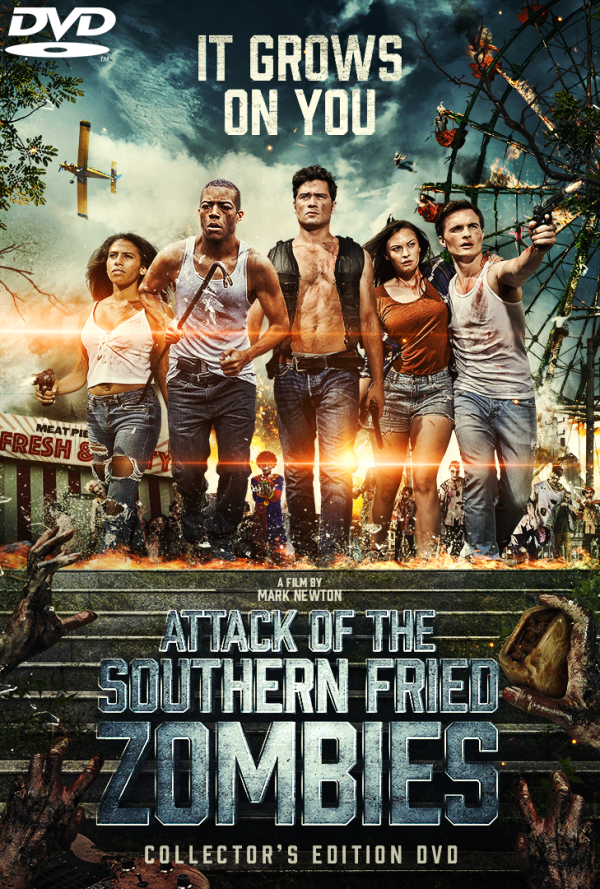 Attack of the Southern Fried Zombies (2018) Collector's Edition DVD Cover