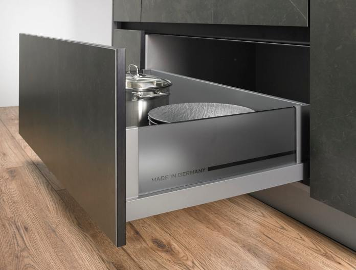 """As with all products from V&B, it is emblazoned """"made in Germany"""" as the top quality criterion also above the kitchen rooms and interior fittings.  (Photo: Villeroy & Boch)"""