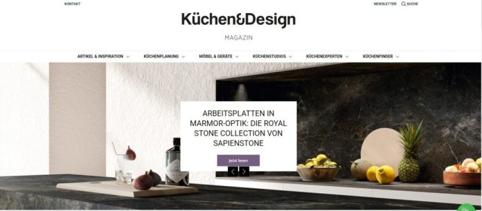 A look back: The Küchen & Design Magazin was founded in 2016.  Now we have given optics & functionality a makeover.  (Photo: Küchen & Design Magazin)