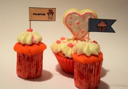 Valentinstag Cupcakes Blog