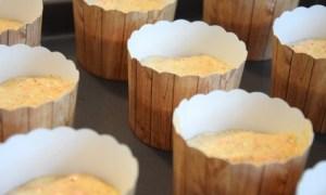 Muffinsförmchen Rüblikuchen B
