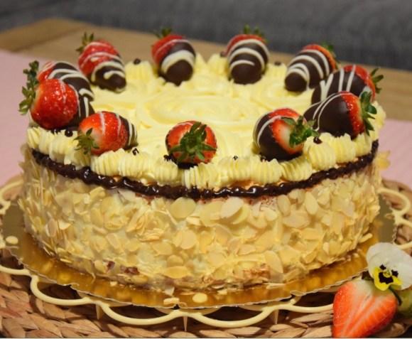 Erdbeer-Vanille-Torte B7