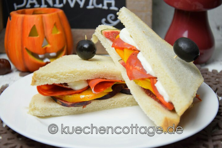 Feurige Kürbis-Feige-Sandwiches