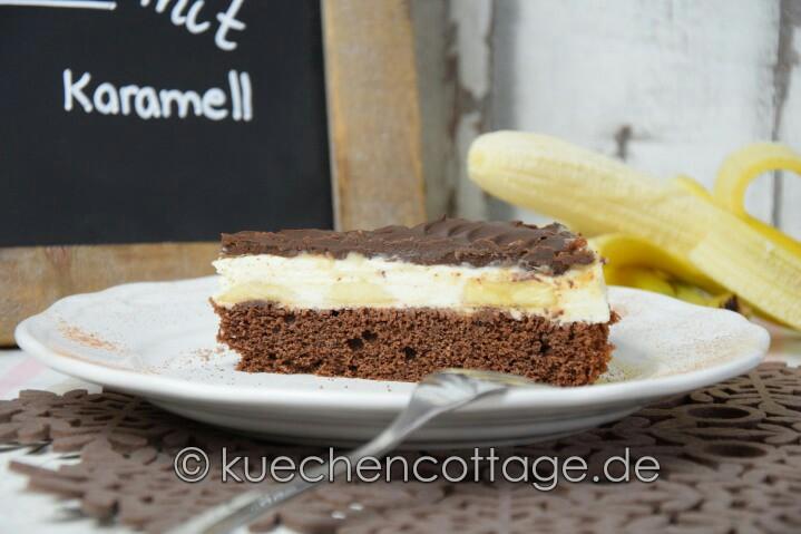 Schoko Bananen Torte Küchencottage