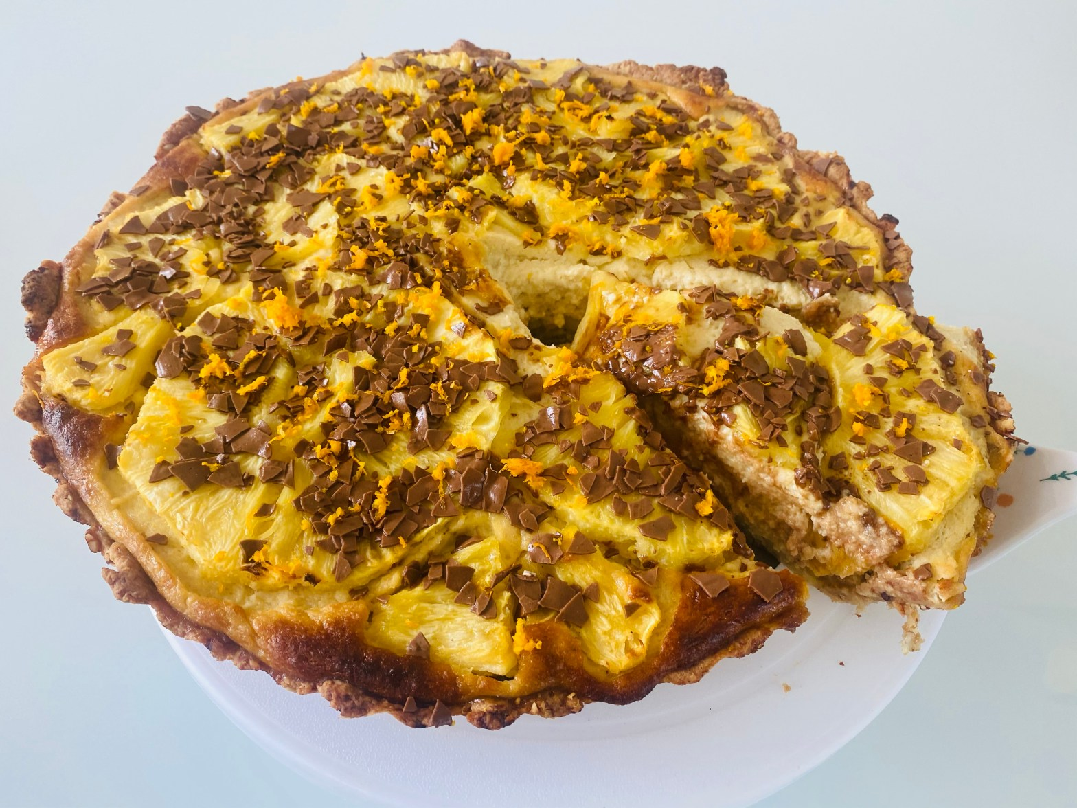 Topfen Ananas Tarte