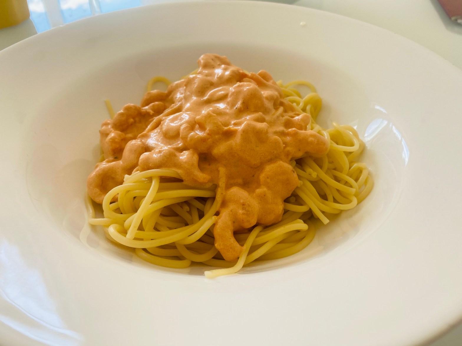 Shrimps Spaghetti