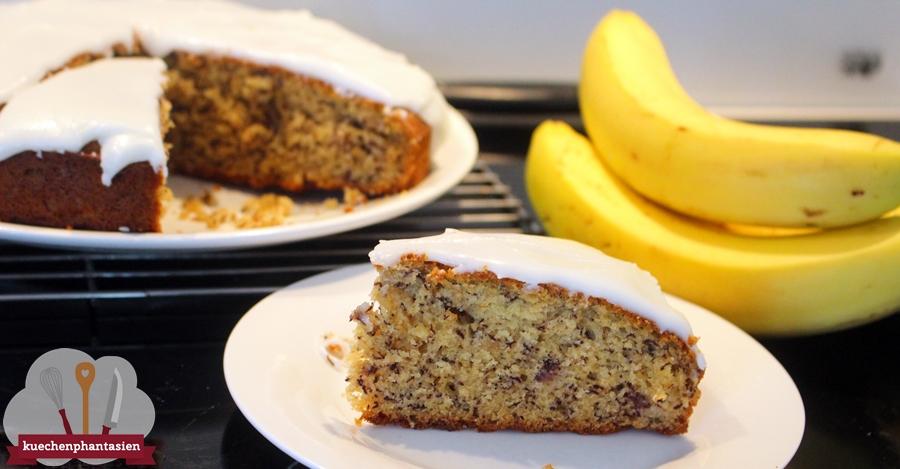 Neuseeländischer Bananenkuchen