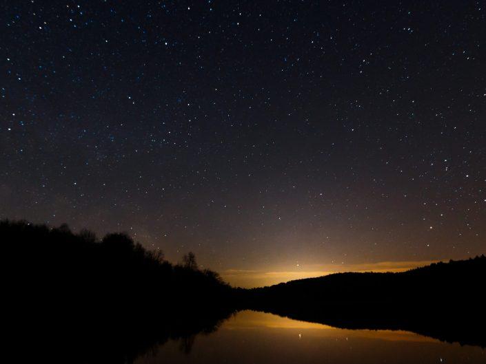 Sterne über dem Mindelsee