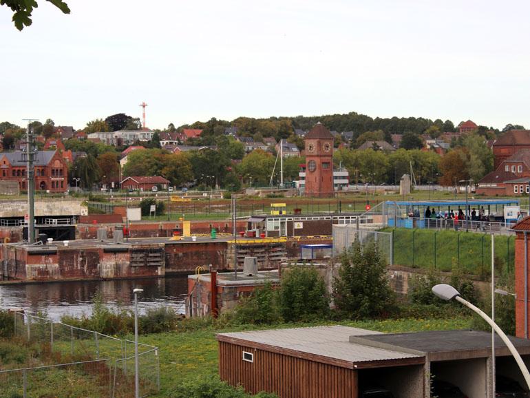 Kiel Holtenau Aussichtsplattform