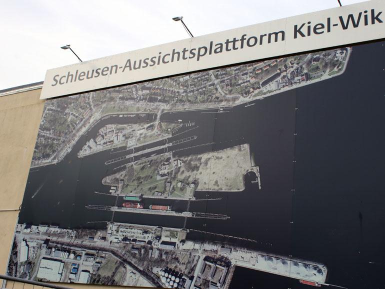 Kiel Holtenau Übersicht