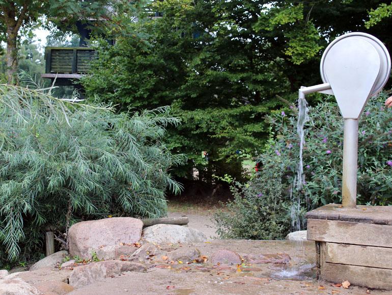 Trappenkamp Wasserspielplatz