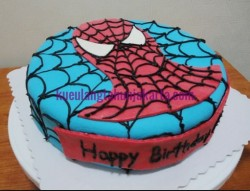 kue tart ultah spiderman jakarta