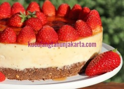 kue strawberry cheese online