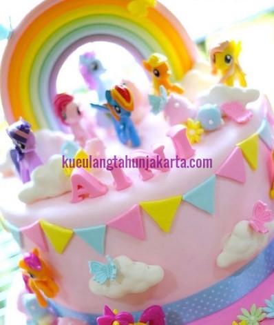 kue ultah tema little pony