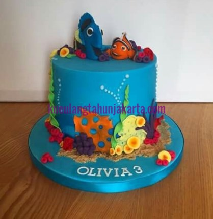 jual finding nemo birthday cake