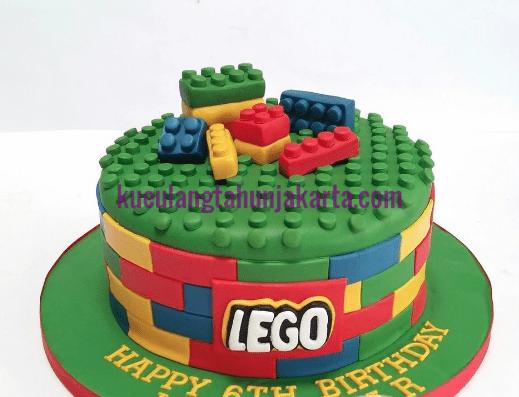 pesan kue ulang tahun lego untuk anak