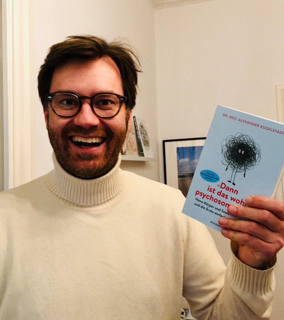 """Wonderful! Mein Buch """"Dann ist das wohl psychosomatisch!"""" ist erschienen"""