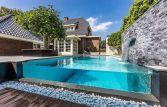 Inspirasi Desain Kolam Renang glass Pool