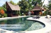 Indian stone lebih indah dan natural untuk finishing kolam renang