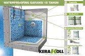 Cara Waterproofing kolam renang Gransi 15 Tahundan Berertifikat