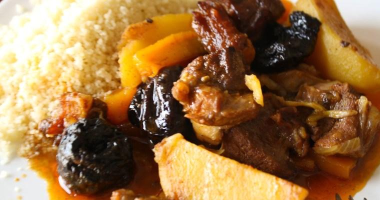 Marokanski tažin sa jagnjetinom