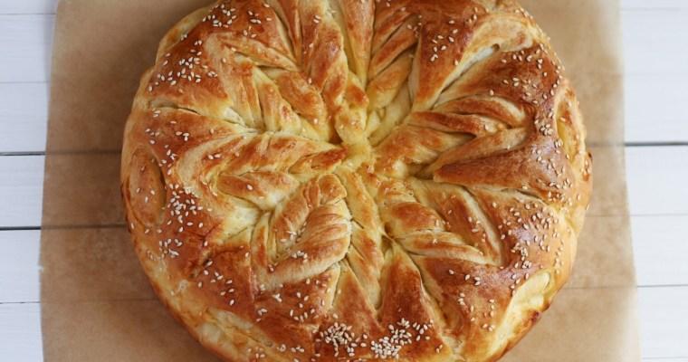 Pahulja pogača / Snowflake bread
