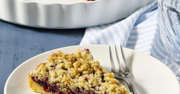 Pita sa borovnicama / Blueberry pie
