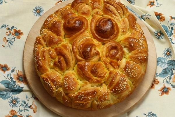 Lisnata pogača / Layered bread