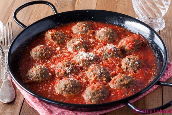 "Ćufte od patlidžana / Eggplant ""meatballs"""