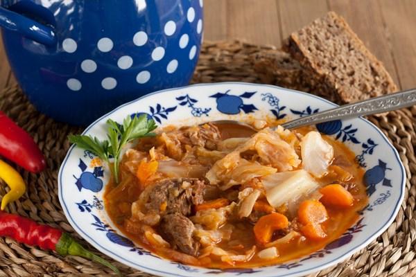 Sladak kupus / Cabbage with meat dish