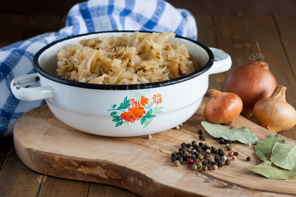 Podvarak / Domestic baked sour cabbage