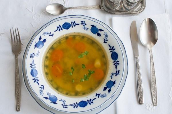 Juneća supa / Beef soup