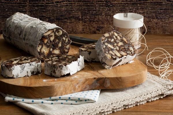 Čokoladna salama ili kuglice / Chocolate salami or balls