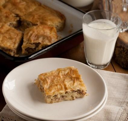 Pita s mesom / Minced meat pie