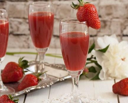 Gusti sok od jagoda / Strawberry juice