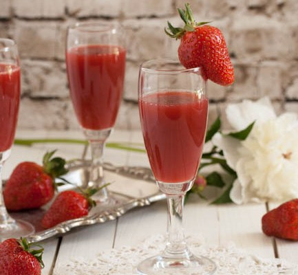 Gusti sok od jagoda / Strawberry juice
