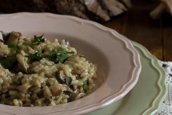 Rižoto sa pečurkama / Risotto with mushrooms