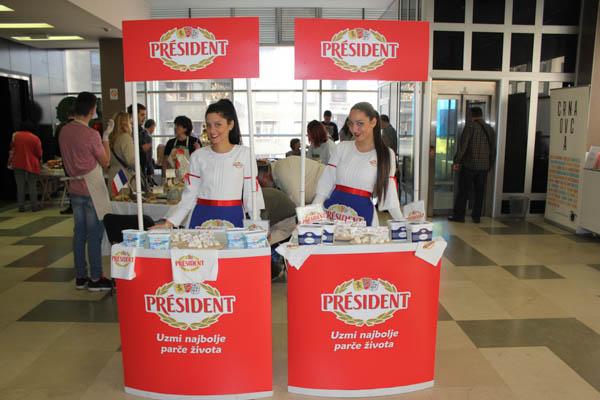 Somborska, Domaći Mladi sir i Kuhinja zaposlene žene na Balkan Cheese Festivalu