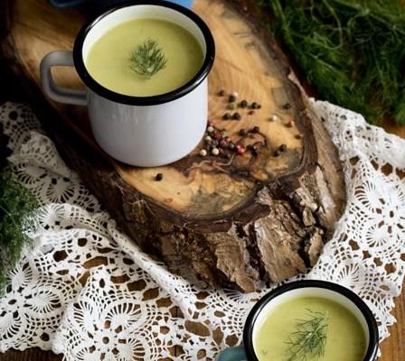 Gusta čorba (potaž) od graška / Green peas soup