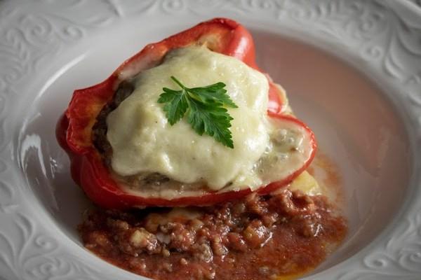 Lazanja punjene paprike / Lasagna stuffed peppers