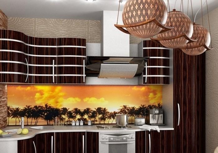 Африканский дизайн кухни
