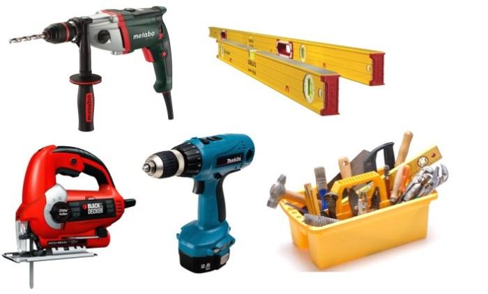 Инструменты для сборки кухонной мебели
