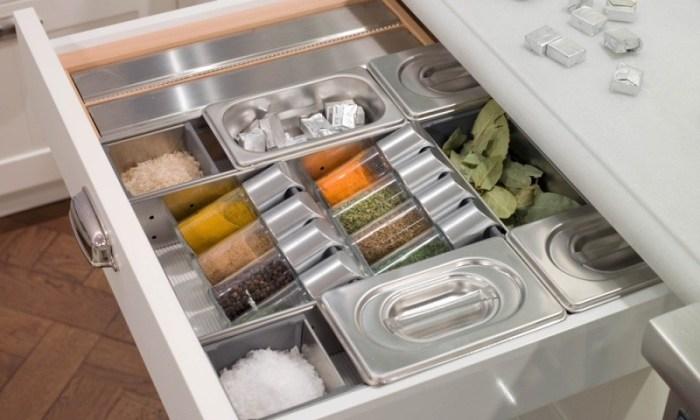 Ящик с приправами и специями