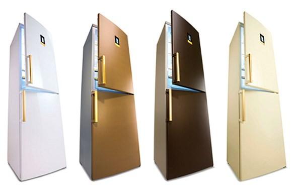 Цветные холодильники «Золотой серии» Bosch
